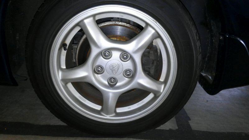 1992 Mazda RX-7 Type R wheel 1