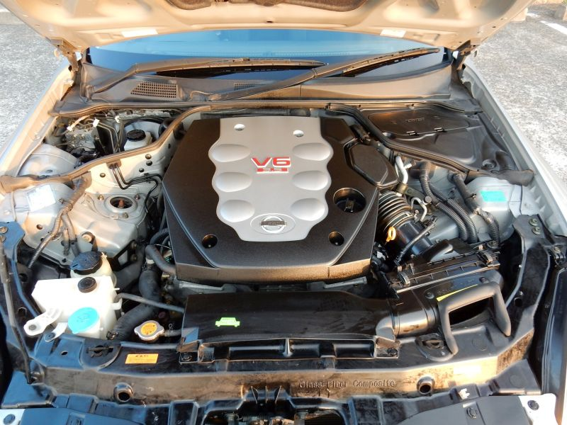 2003 Nissan Skyline V35 350GT coupe engine