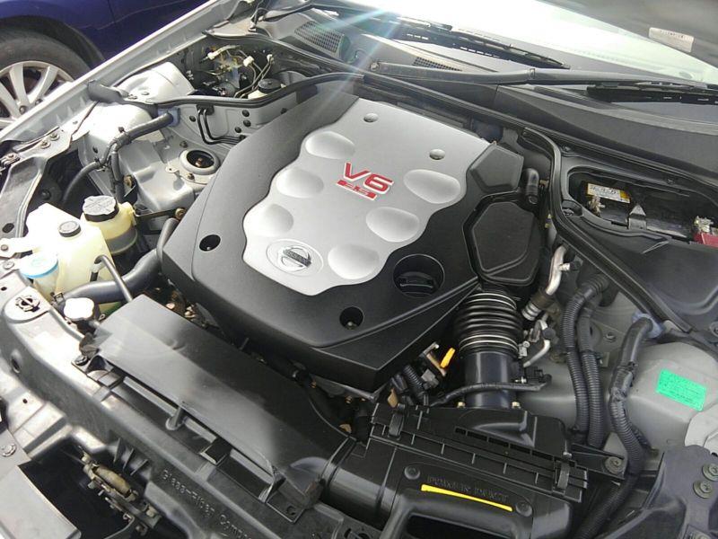 V35 350GT 70th Anniversary engine