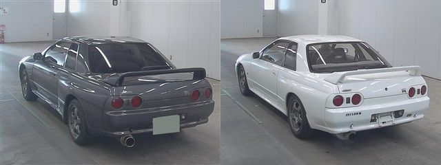 1993 R32 GTR rear