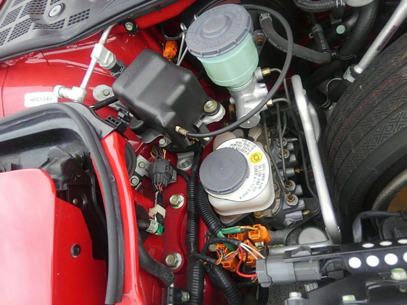 1995 HONDA NSX NA1 Coupe engine 3