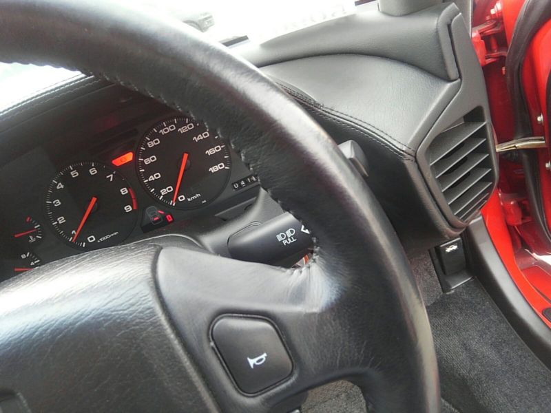 1995 HONDA NSX NA1 Coupe steering wheel