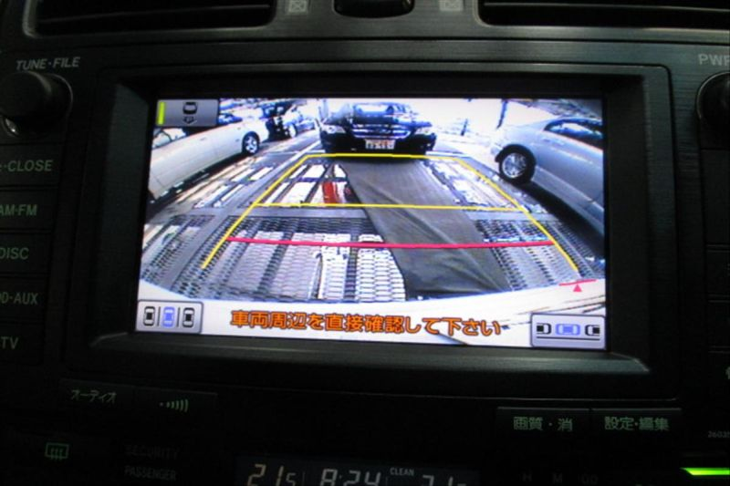 2007 Toyota Mark X ZIO 350G wagon reversing camera