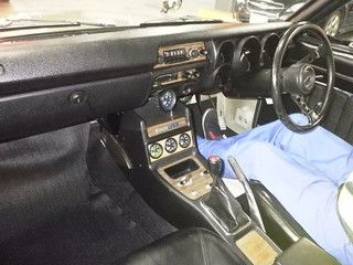 Hakosuka 1971 Nissan Skyline KGC10 coupe auction interior