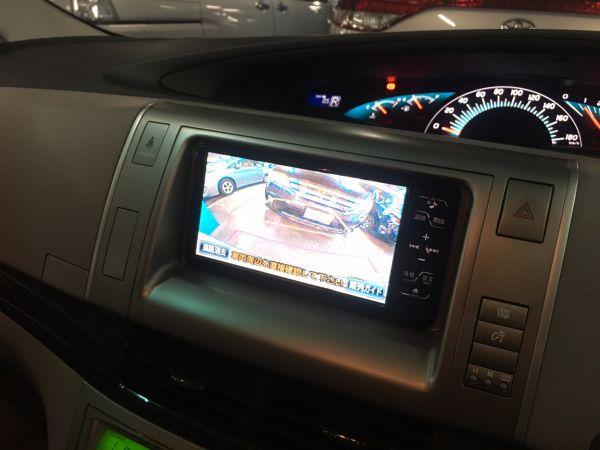 2008 Toyota Estima Aeras tv