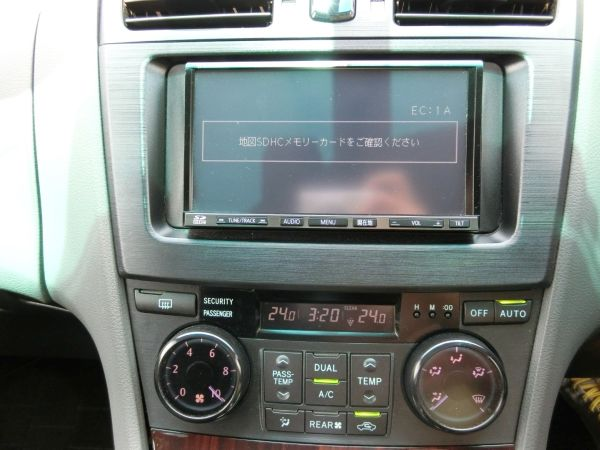 2011 Toyota Mark X Zio 350G Wagon TV
