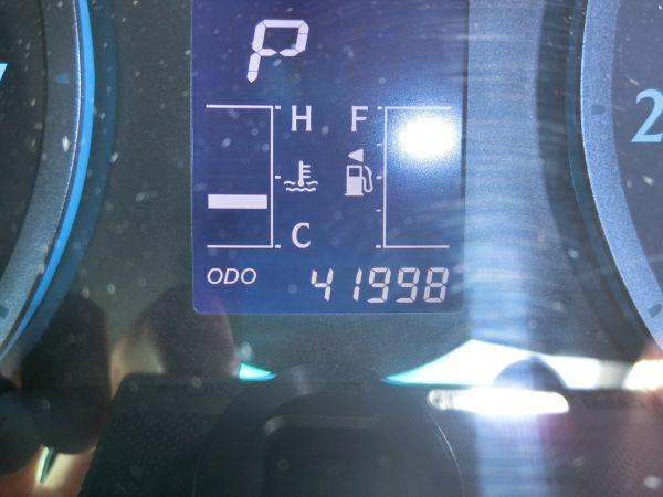 2011 Toyota Mark X Zio 350G Wagon odo