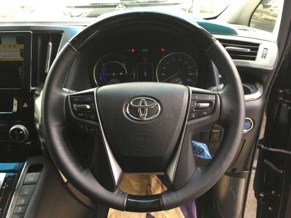 2015 Toyota Vellfire Hybrid ZR 30 Series steering wheel