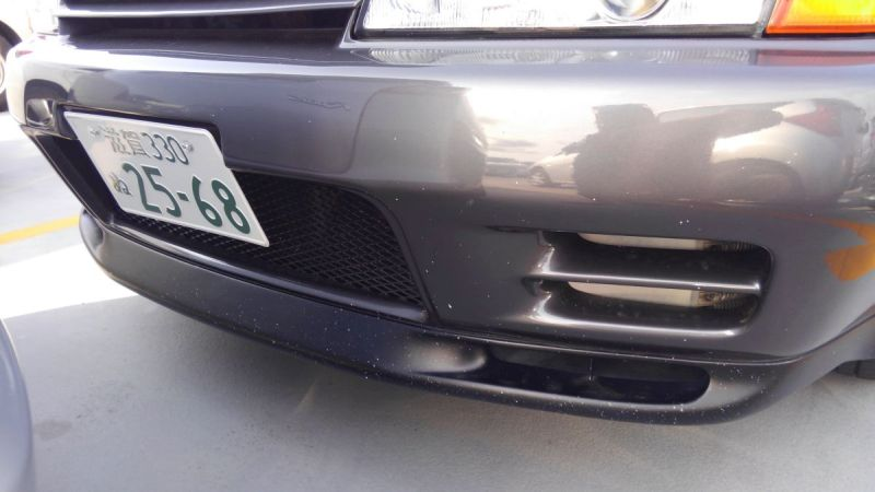 R32 GTR VSpec front bumper