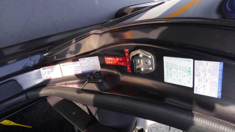 R32 GTR VSpec service stickers