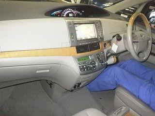 2008 Toyota Estima 4WD 7 seater auction interior