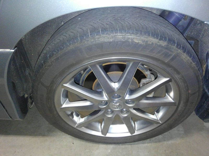 2008 Toyota Estima Areas S 2WD 8 seater wheel