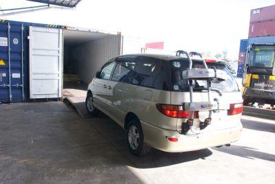 2000 Toyota Estima container open