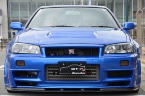 2002 R34 GTR VSpec 2 NUR with Z-Tune bodykit front