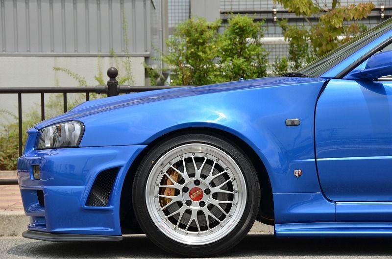 2002 R34 GTR VSpec 2 NUR with Z-Tune bodykit front half