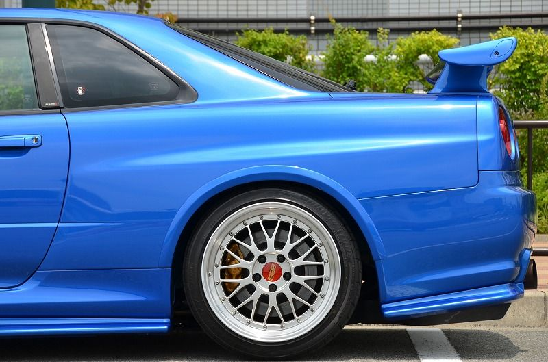 2002 R34 GTR VSpec 2 NUR with Z-Tune bodykit rear half