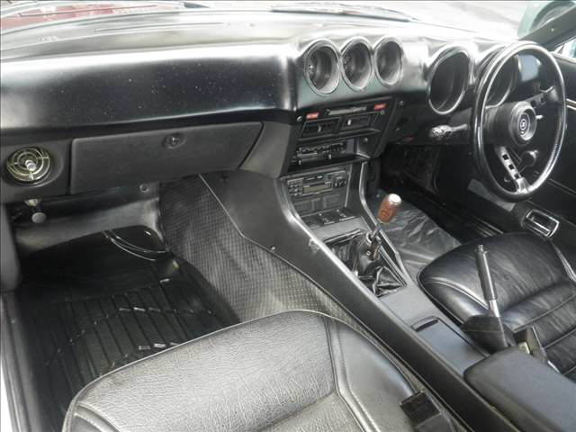 1977 Nissan FairladyZ 2 seater auction interior