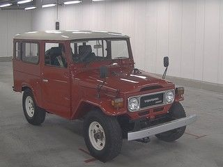 1984 Toyota Land Cruiser BJ46 Long auction front