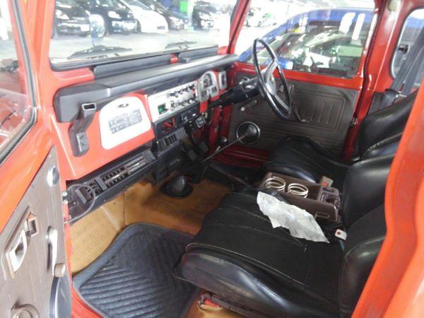 1984 Toyota Land Cruiser BJ46 Long dash