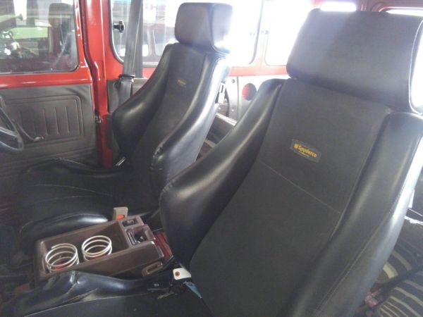 1984 Toyota Land Cruiser BJ46 Long seats