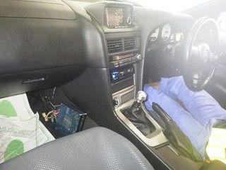 1999 Nissan Skyline R34 GTR auction interior