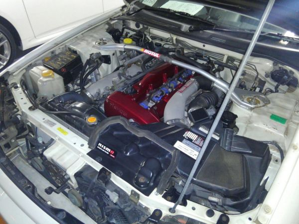 1999 Nissan Skyline R34 GTR engine 2