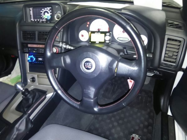 1999 Nissan Skyline R34 GTR steering wheel