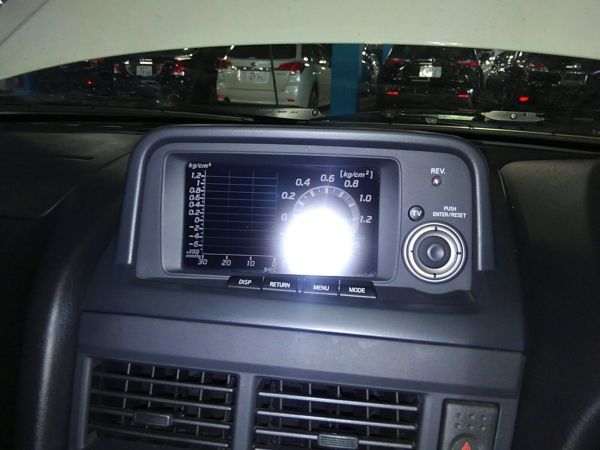 1999 Nissan Skyline R34 GTR tv screen