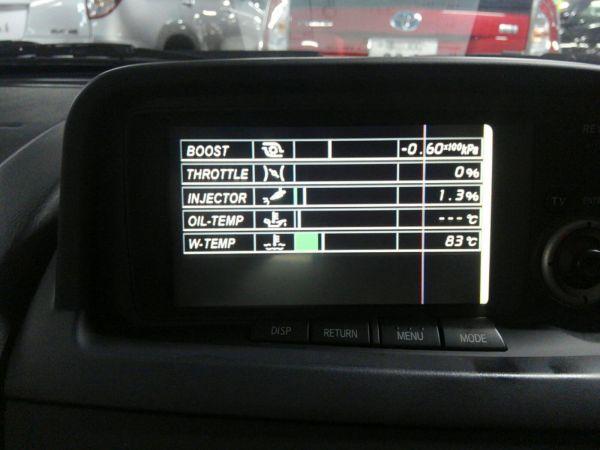 2001 Nissan Skyline R34 GTR TV screen