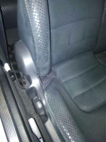 2001 Nissan Skyline R34 GTR VSPEC driver seat