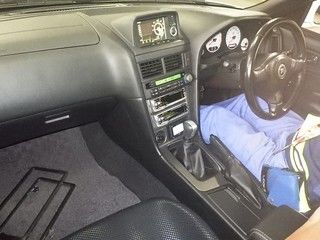 2001 Nissan Skyline R34 GTR auction interior