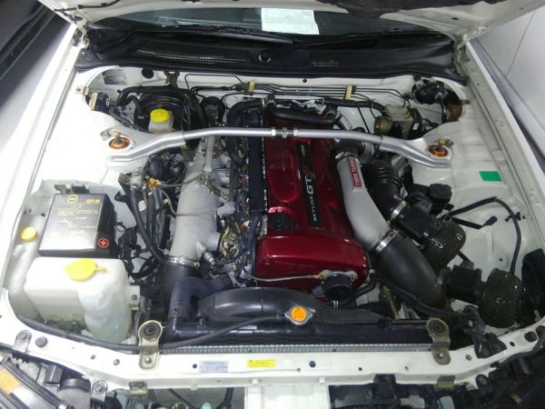 2001 Nissan Skyline R34 GTR engine