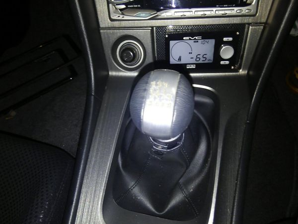 2001 Nissan Skyline R34 GTR shift knob wear