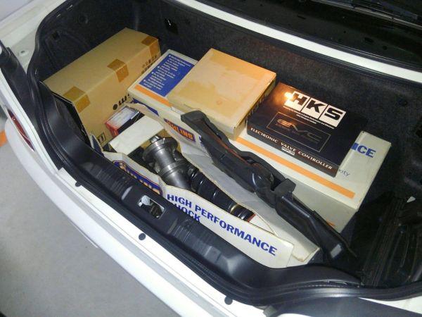 2001 Nissan Skyline R34 GTR spare parts
