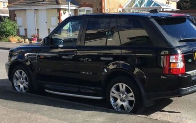 2006 Range Rover Sport valuation