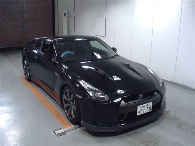 2008 NISSAN R35 GTR Black Edition
