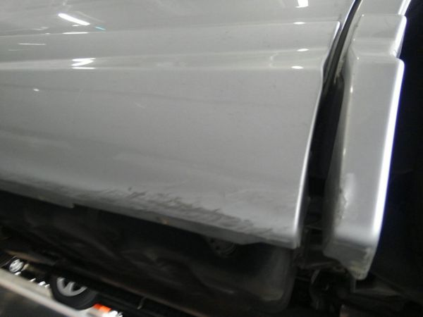 2012 Toyota Estima G 4WD 7 seater molding scratches