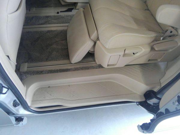 2012 Toyota Estima G 4WD 7 seater seat rear