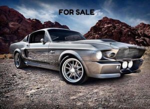 1967 Ford Mustang ELEANOR show