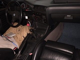 1988 BMW E30 M3 auction interior