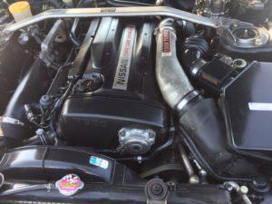 1993 Nissan Skyline R32 GTR VSpec engine