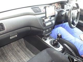 2004 Mitsubishi Lancer EVO 8 MR auction interior