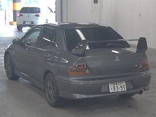 2004 Mitsubishi Lancer EVO 8 MR auction rear