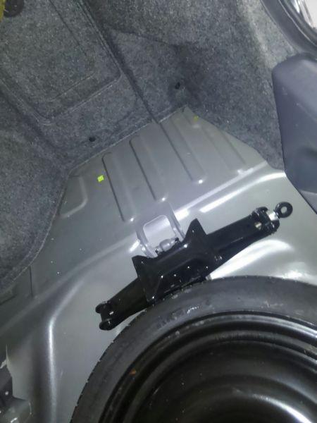 2004 Mitsubishi Lancer EVO 8 MR inside boot