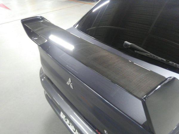 2004 Mitsubishi Lancer EVO 8 MR rear spoiler