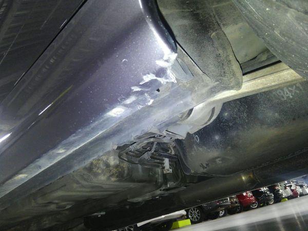 2004 Mitsubishi Lancer EVO 8 MR underbody 7