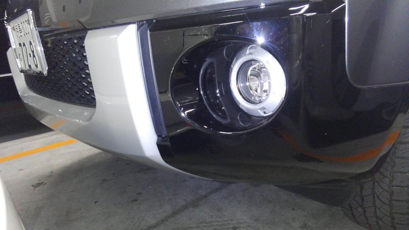 2014 Mitsubishi Delica D5 petrol CV5W 4WD G Power package spotlight 1