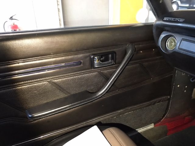 1976 Nissan Skyline GT-X door card
