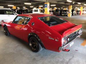 1976 Nissan Skyline GT-X left rear