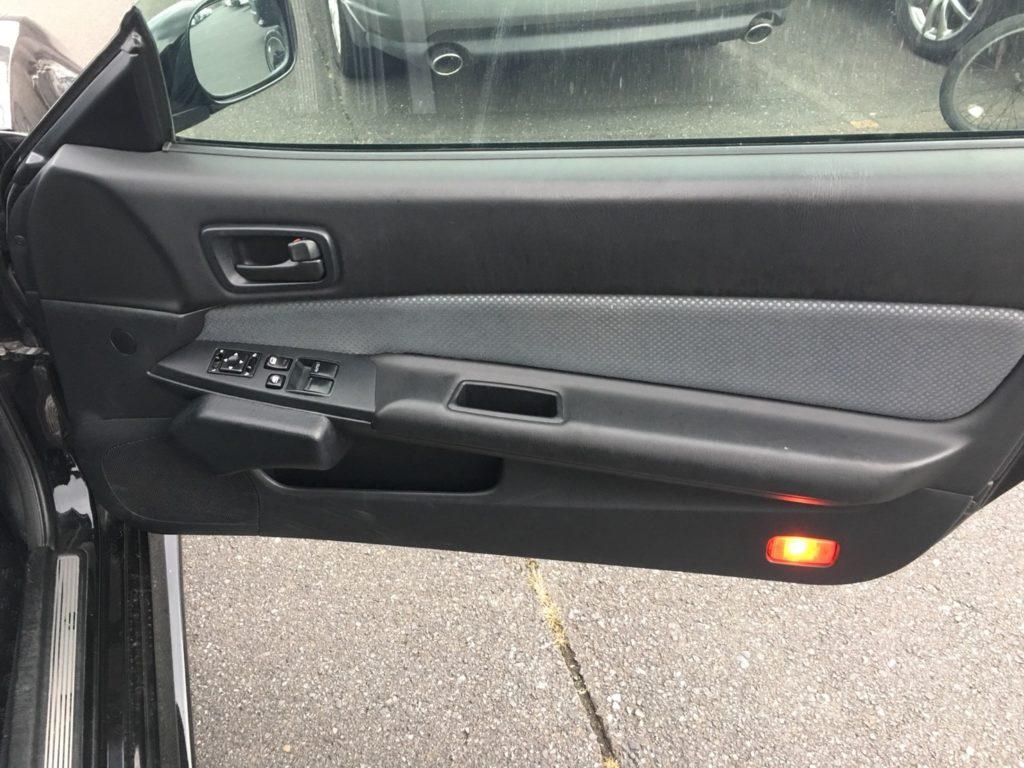 1999 Nissan Skyline R34 GT-R VSpec black drivers door